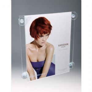Window Mounted Poster Display Kit: A4 (Portrait)